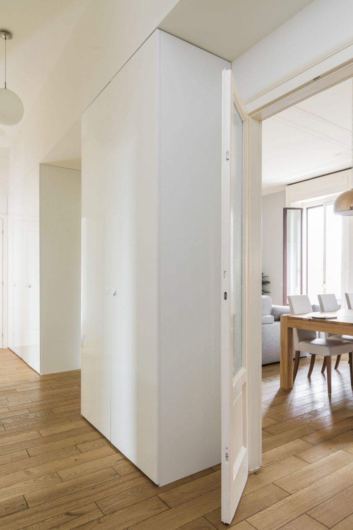 Nomade Architettura Interior Design Renovate A S Apartment In Milan