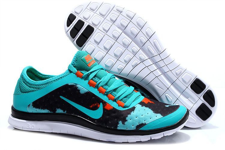 official photos e2449 e991e Nike Free 3.0 V7 Womens Brazil Green Dark Citrus Coal Black