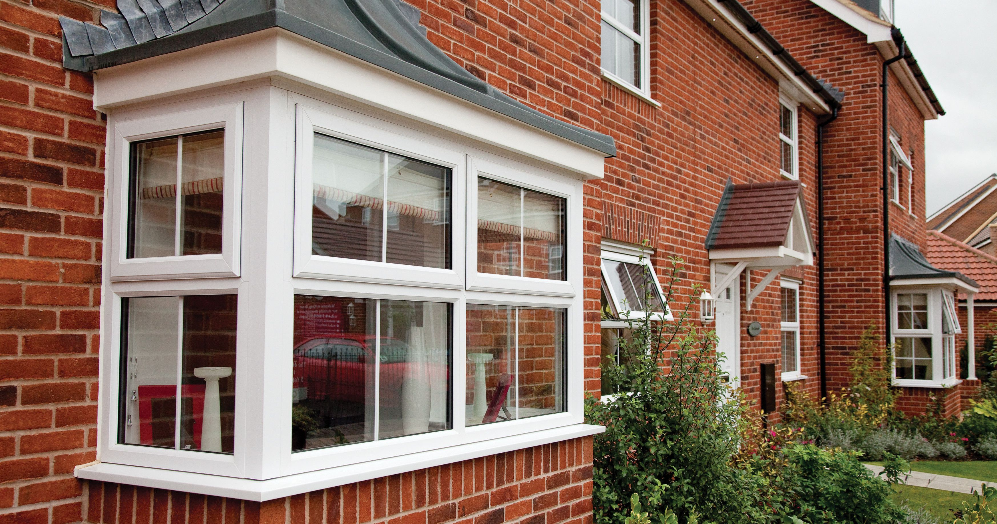 Secure by design windows the skylight double glazing and for Box bay windows for sale