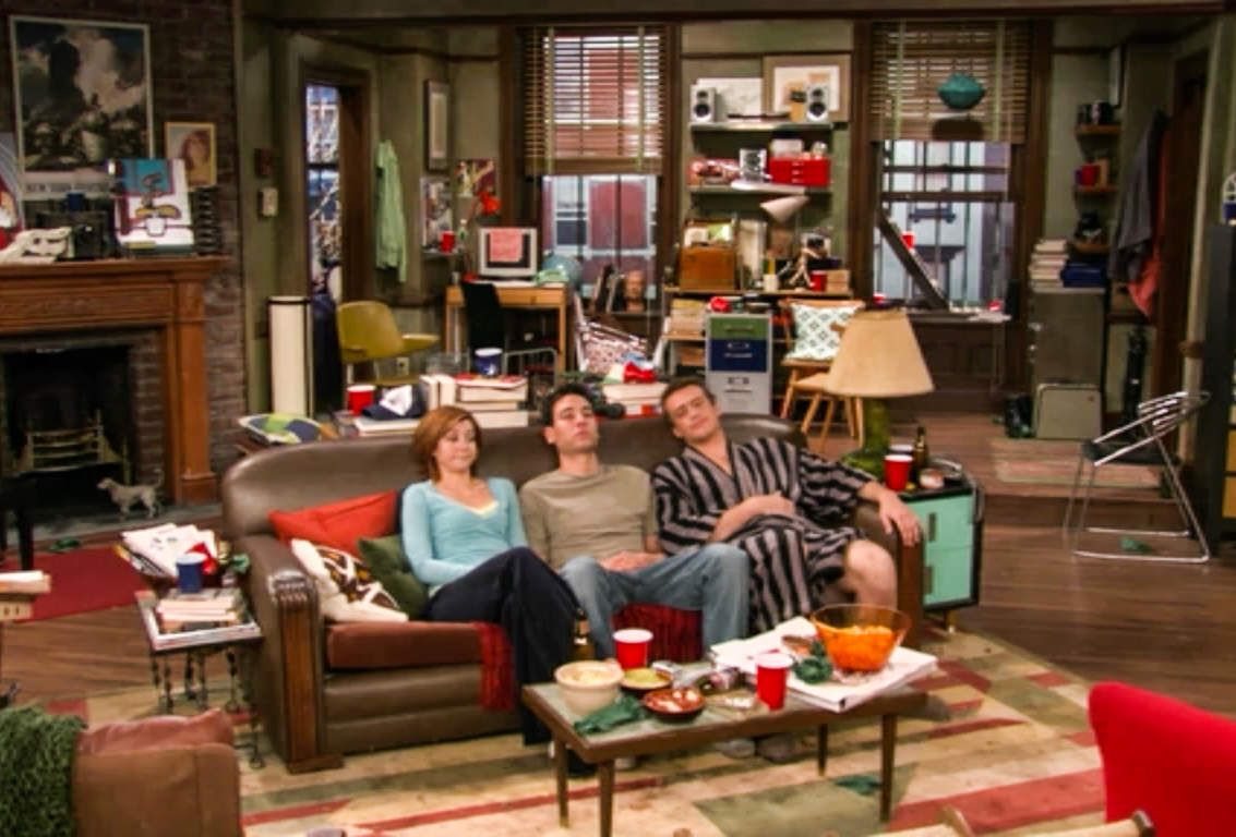 How I Met Your Mother Ted Mosby S Apartment New York Central Poster In Top Left