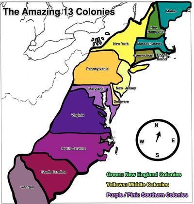 The 13 British Colonies Map 13 British Colonies Map | compressportnederland The 13 British Colonies Map