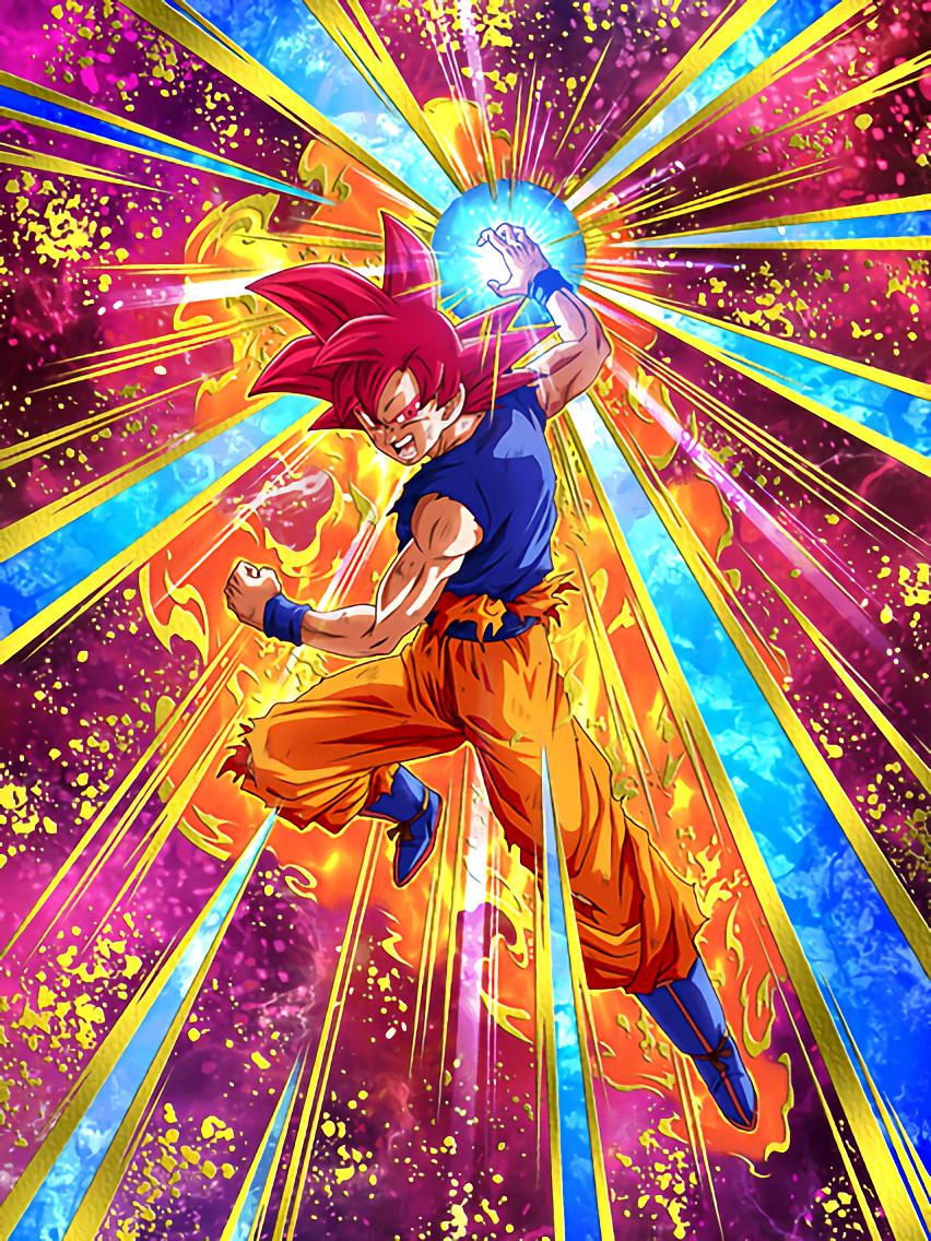Explosive Battle Urge] Super Saiyan God Goku/Dragon Ball Z