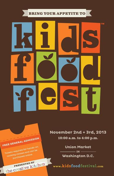Kids Food Festival Poster Design Kids Food Festival Poster Food Festival