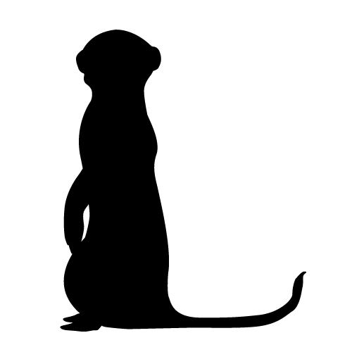 meerkat silhouette google search pride rock pinterest rh pinterest com meerkat clipart free meerkat clipart free