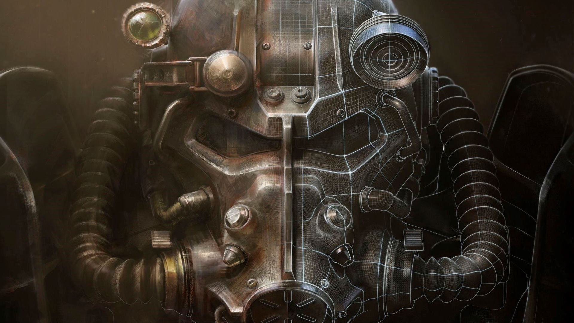 1920x1080 Wallpaper Fallout 4 Bethesda Softworks Armor Fallout