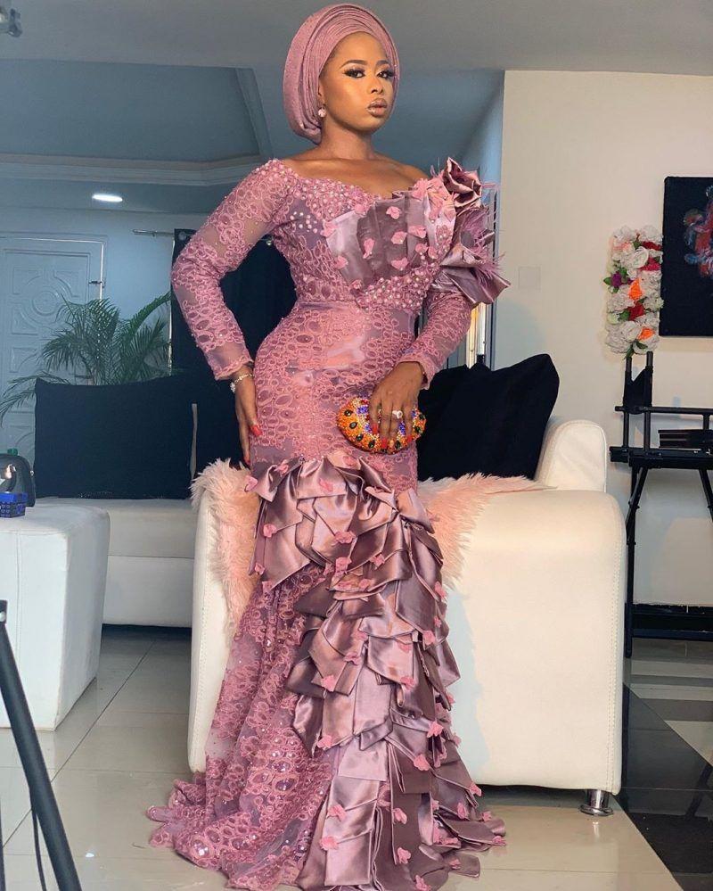 Top Ankara Wedding Fashion Dresses 2020 New Ideas In 2020 Lace Fashion Latest African Fashion Dresses Lace Dress Styles