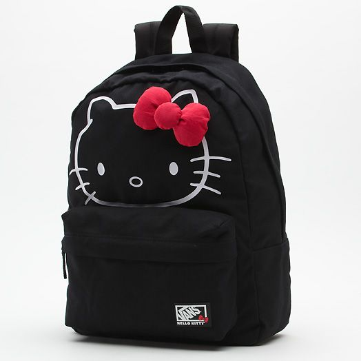 d29b8010cec vans//hello kitty backpack | Style for Style | Hello kitty backpacks ...