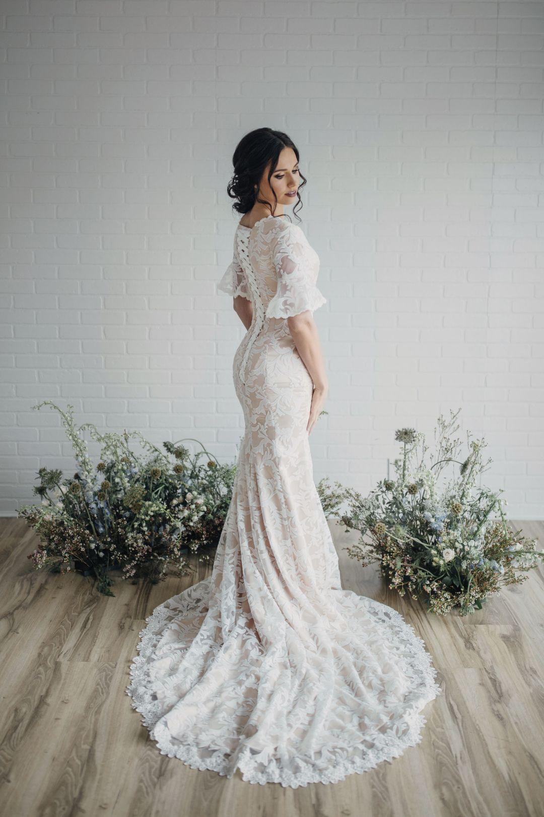 25 Modest Mermaid Wedding Dresses Lds Wedding Mermaid Wedding Dress With Sleeves Modest Wedding Dress Mermaid Modest Wedding Dresses Lds [ 1620 x 1080 Pixel ]