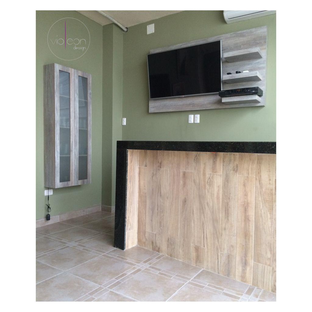 Dise o de mini bar villa gb meson de granito con frente for Muebles de imitacion