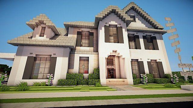 Minecraft Suburban House Google Search Minecraft Suburban House Suburban House Modern Minecraft Houses