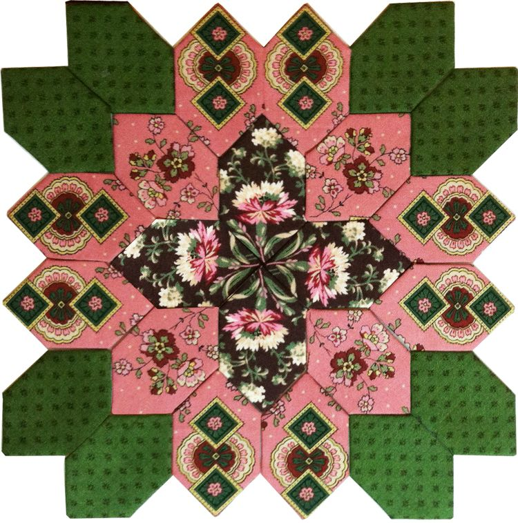lucy boston block 25 from pieceful gathering quilt shop lucy boston pinterest patchwork. Black Bedroom Furniture Sets. Home Design Ideas