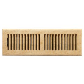 Allen Roth Louvered Abs Resin Floor Register Rough