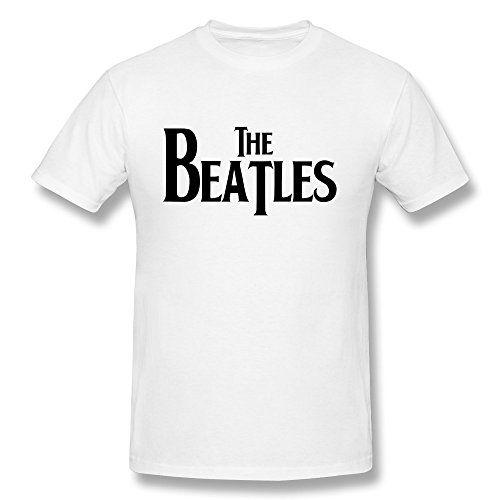Next Style Men's The Beatles Logo Custom Nice White T-Shirt Next ...