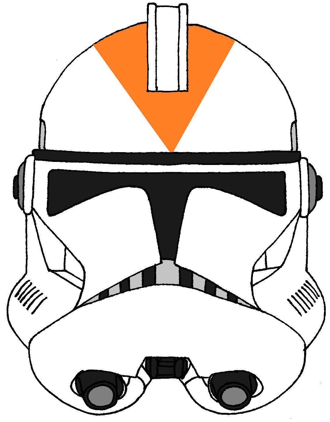 Clone Trooper Helmet 212th Attack Battalion Star Wars Characters Drawings Star Wars Helmet Clone Trooper Helmet