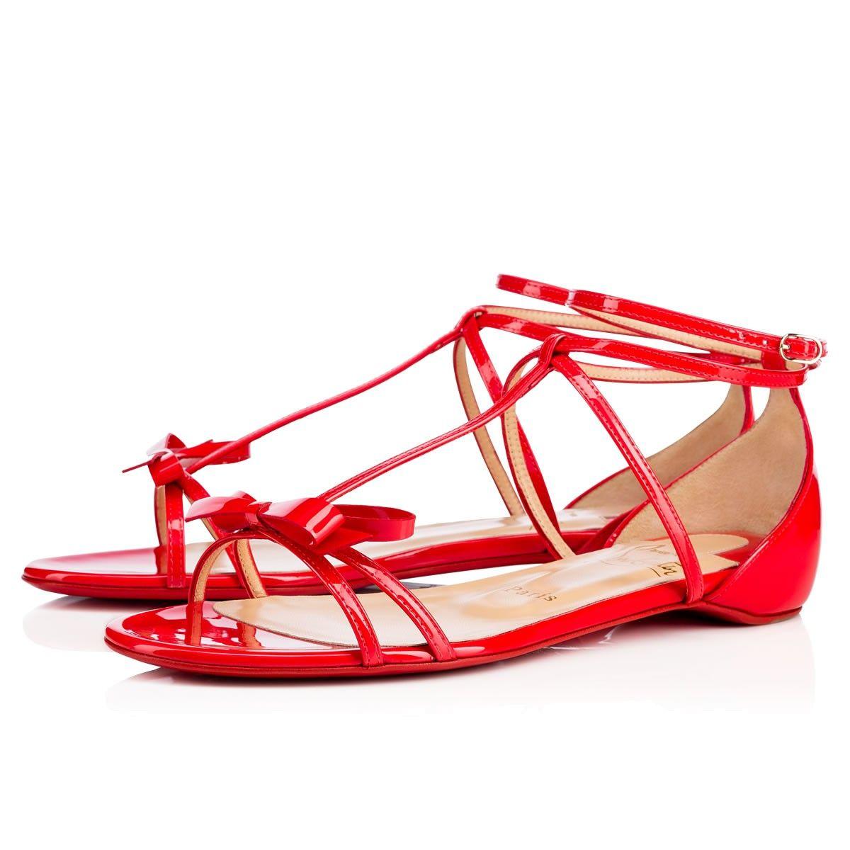 f6874a61aa2c CHRISTIAN LOUBOUTIN Blakissima Flat Fraise Patent - Women Shoes - Christian  Louboutin.  christianlouboutin  shoes