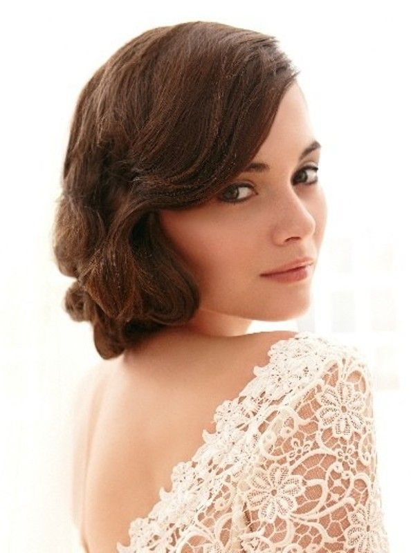 Awesome 1000 Images About Vintage Wedding Hairstyles Ideas On Pinterest Short Hairstyles For Black Women Fulllsitofus