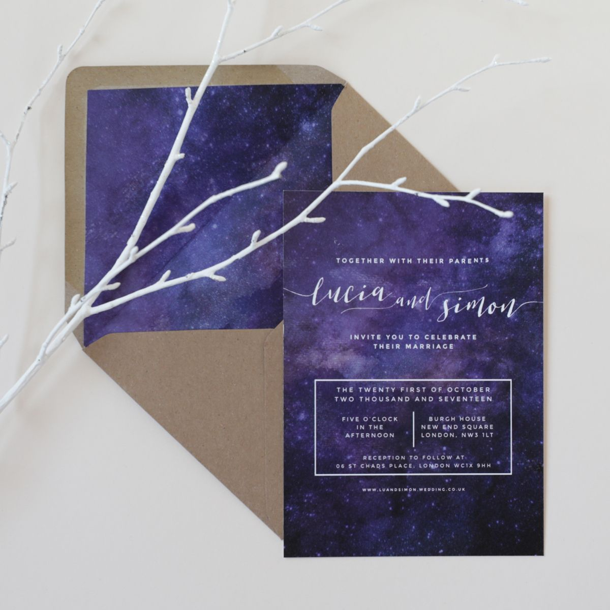 Inspired by all things nighttime - stars, constellations and ...
