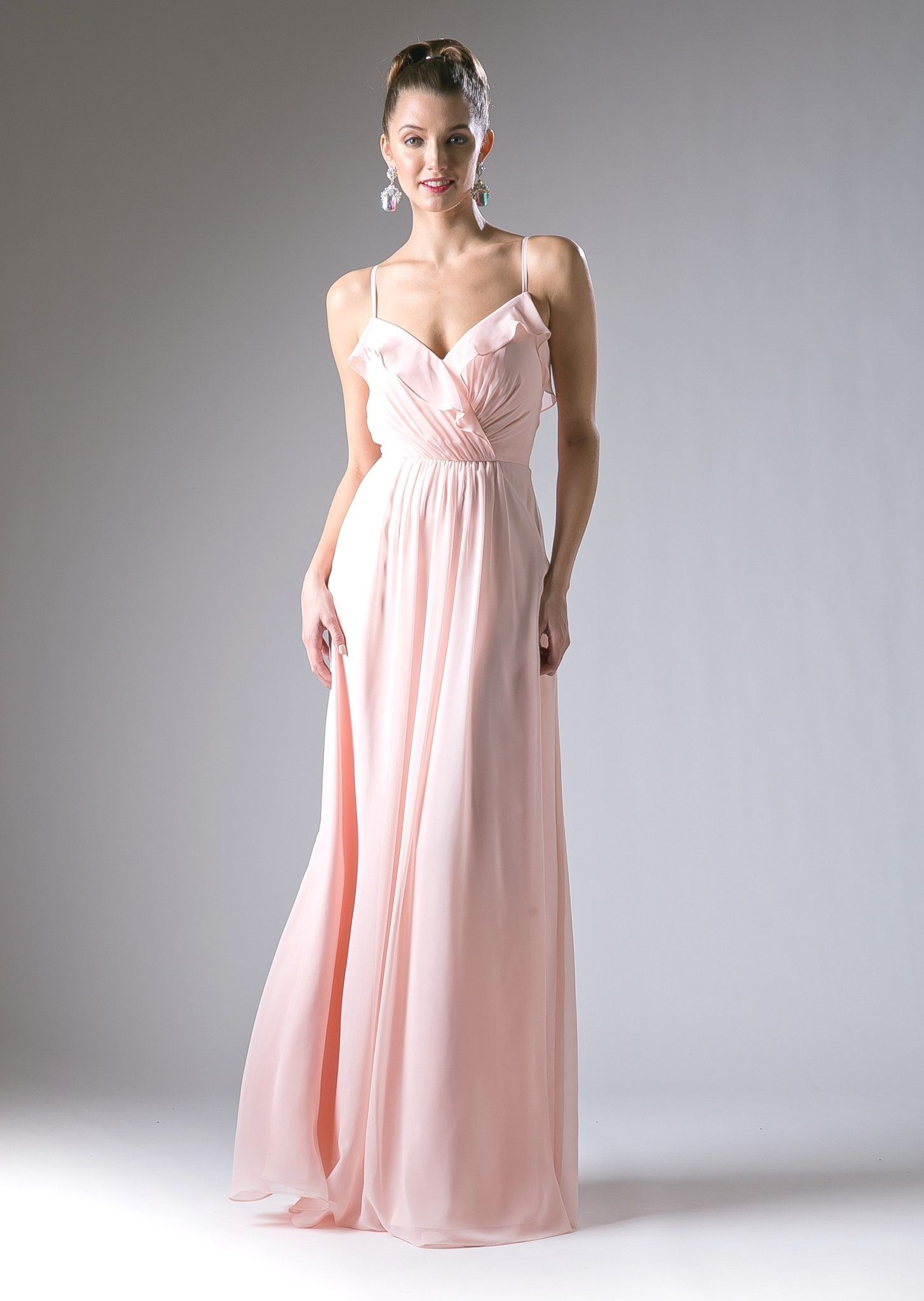 Long Sweetheart Dress with Straps by Cinderella Divine CH