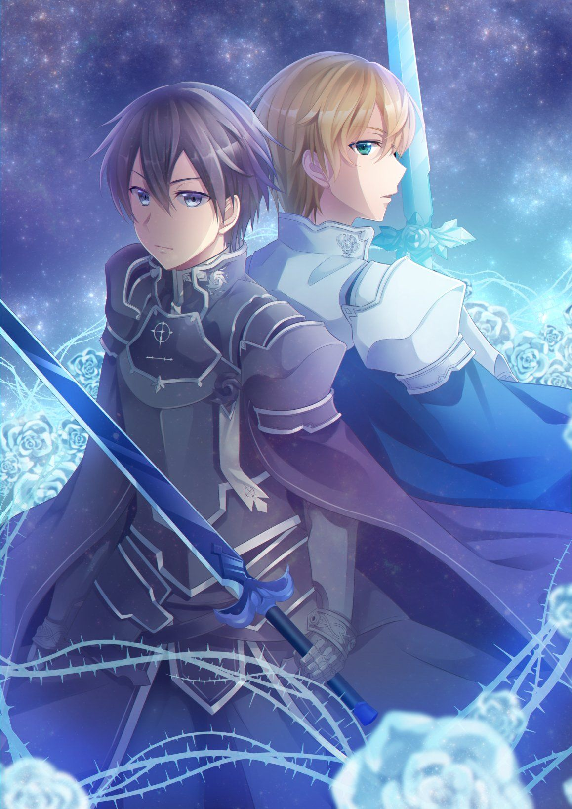 Kirito X Eugeo Integrity Knight Arte De Anime Personajes De Anime Fondo De Pantalla De Anime