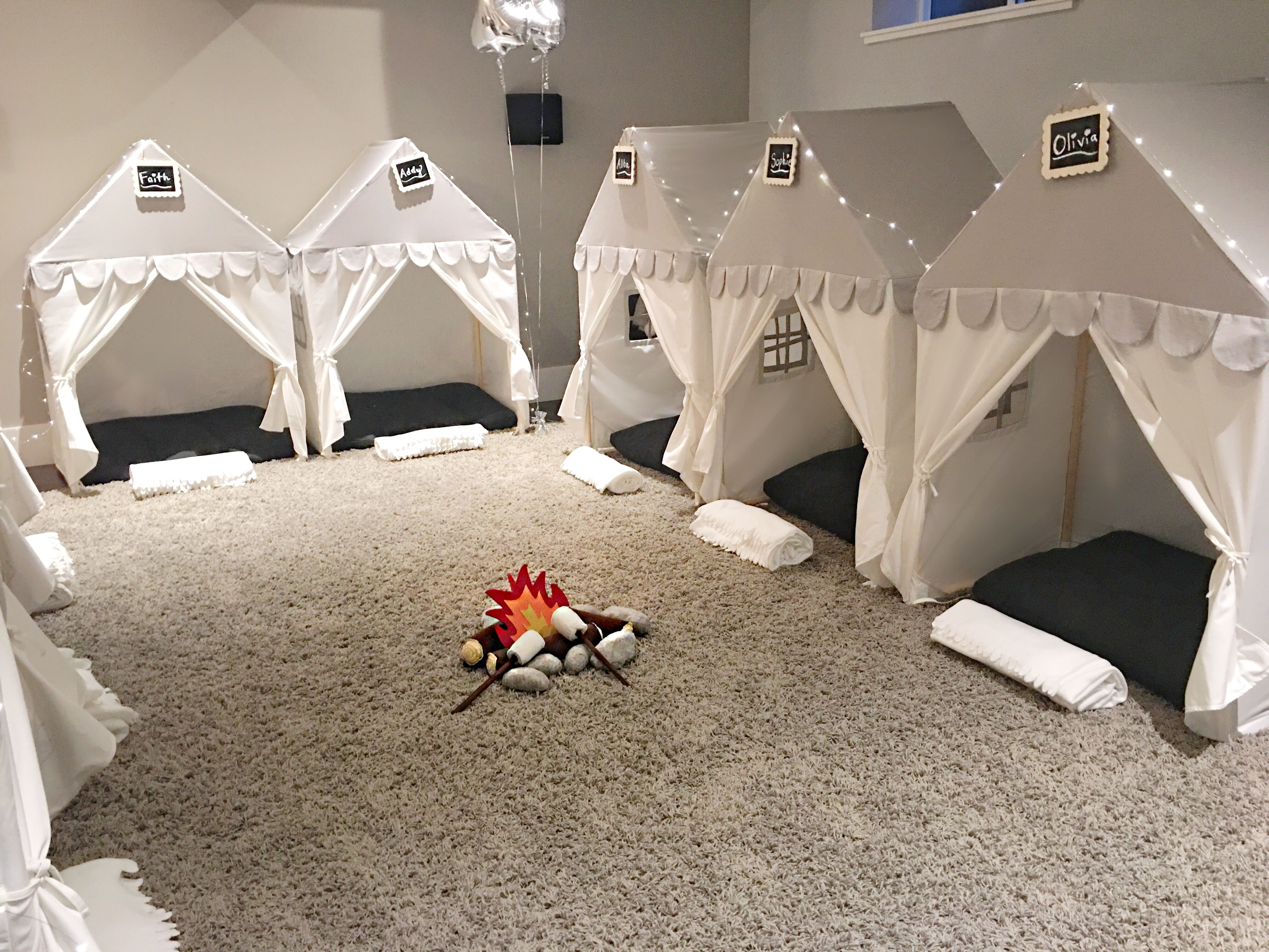 """The """"Sweet Dreams"""" Play House Bed Canopy Grey House"""