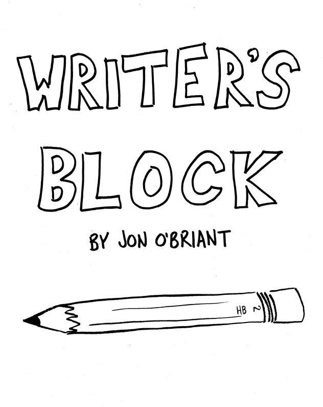 2014 24 hour comic by Jon O'Briant