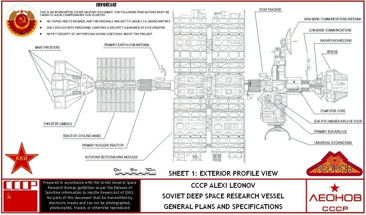 Rocketumblr 2010 The Year We Make Contact Leonov Spaceship
