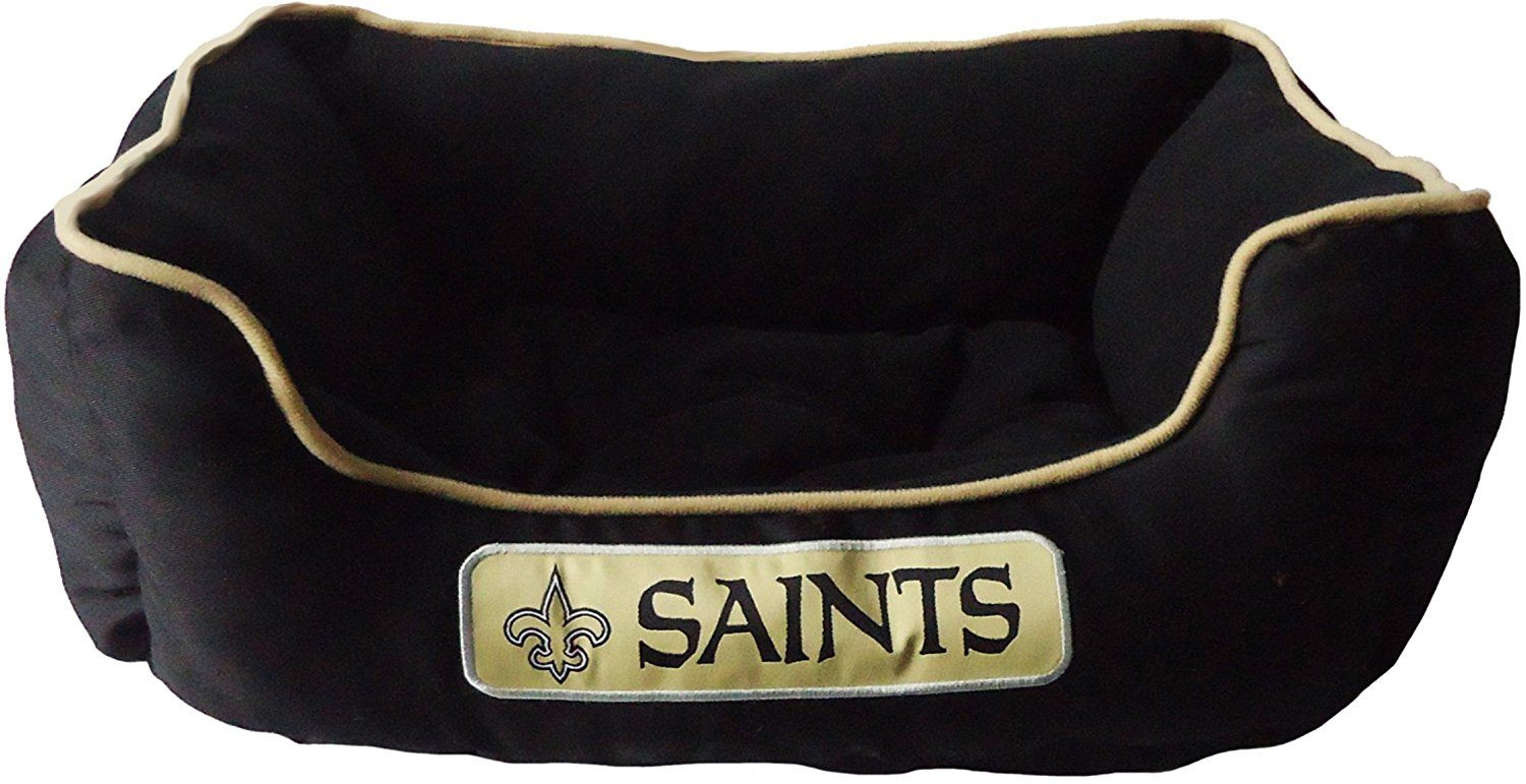 Pets first nfl new orleans saints pet bed pets first
