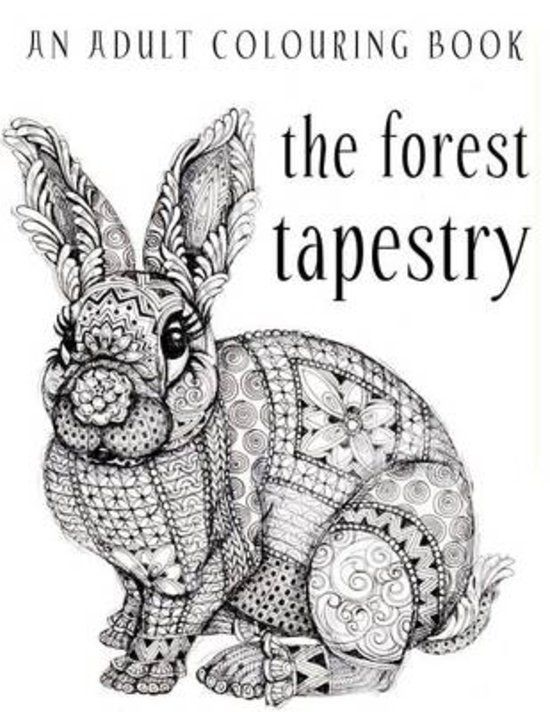 You To Relax And Color The Forest Tapestry
