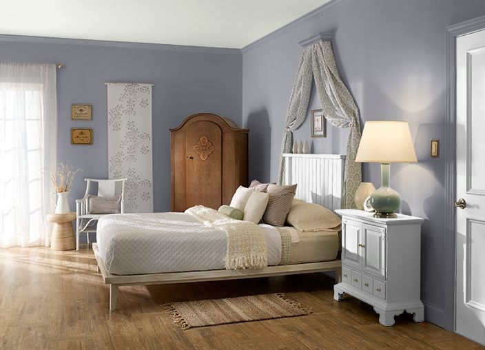 Heather Grey Behr Paint Google Search Bedroom Paint Colors Bedroom Colors Home