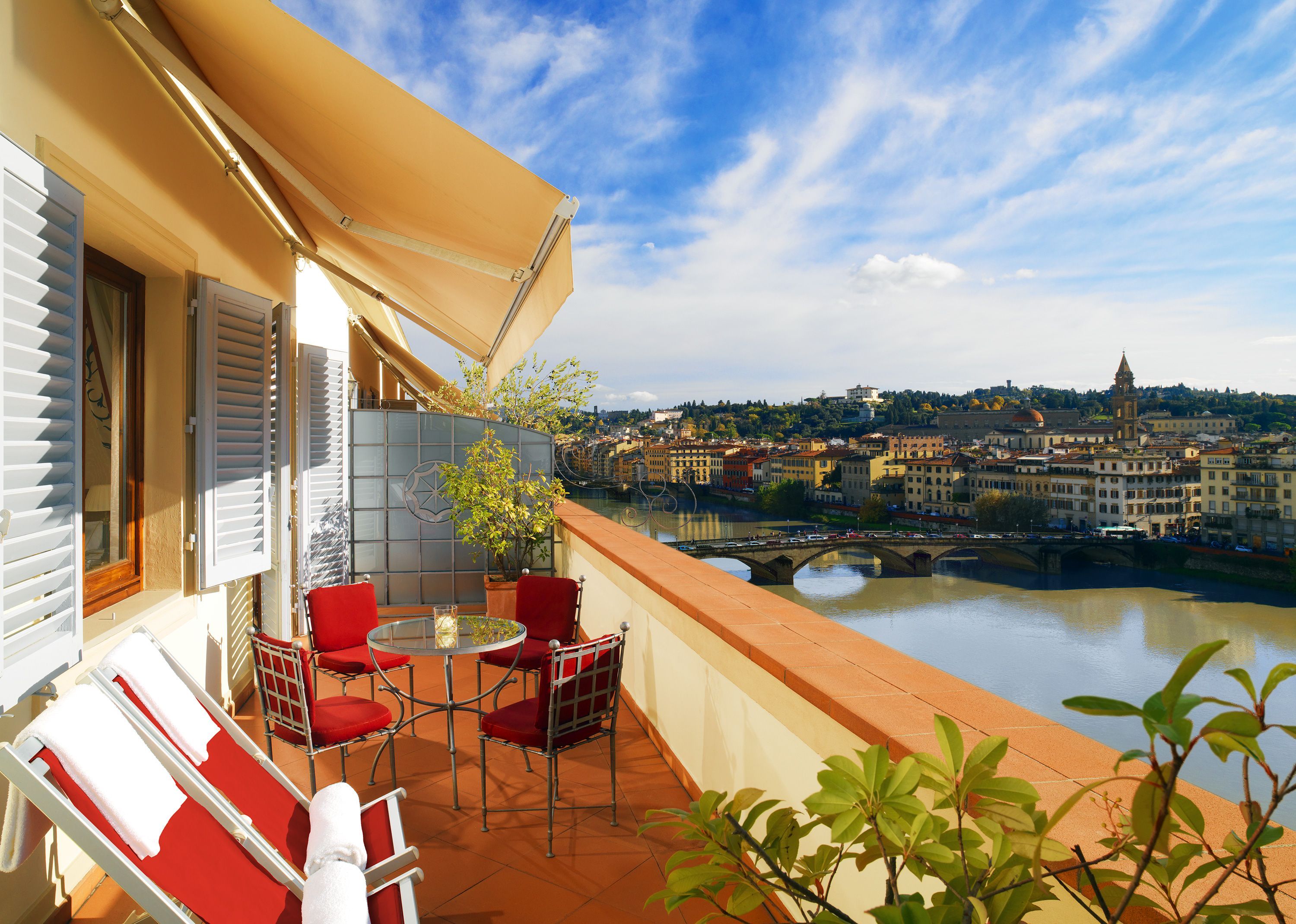 Westin excelsior florence italy westin excelsior florence deals - Views From Penthouse Terrace Westin Excelsior Florence Italy