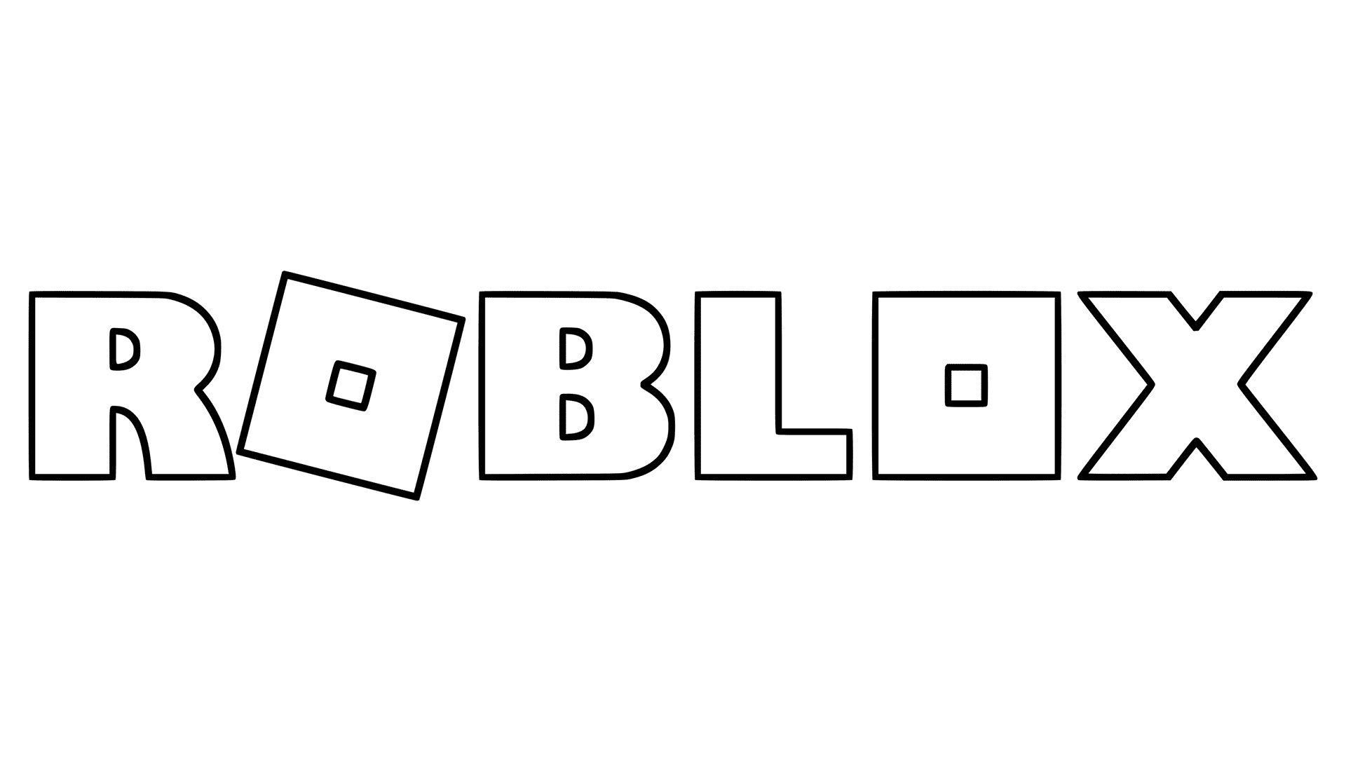 New Roblox Logo Generation V Coloring Pages | Coloring pages ...