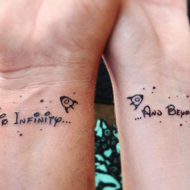 90+ tatouage apparié de mère et fille - dessins et significations (2019) - Tatouageblog