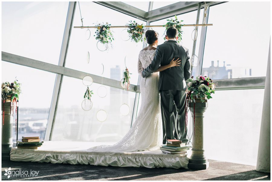 Wedding: Clint & Erika // San Diego Public Library, San Diego, CA » Analisa Joy Photography