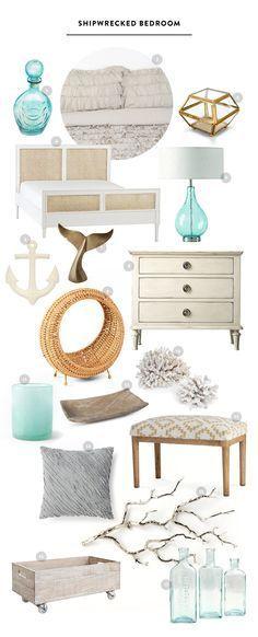 Vintage bedroom Themes - Shipwrecked Vintage Bedroom Inspiration images