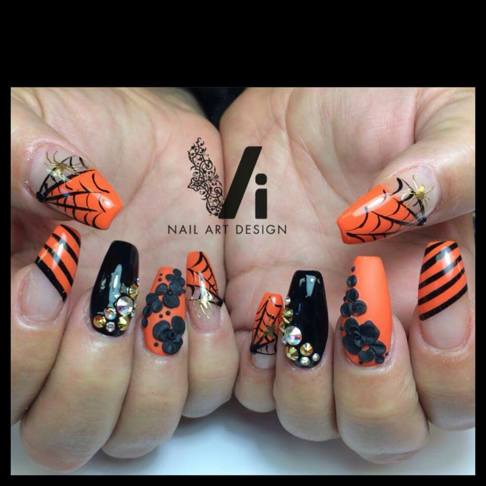 Classiest Halloween | Halloween nail designs, Halloween ...