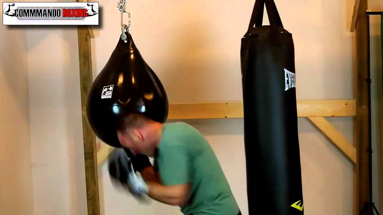 Aqua Punching Bag Review From Commando Boxing