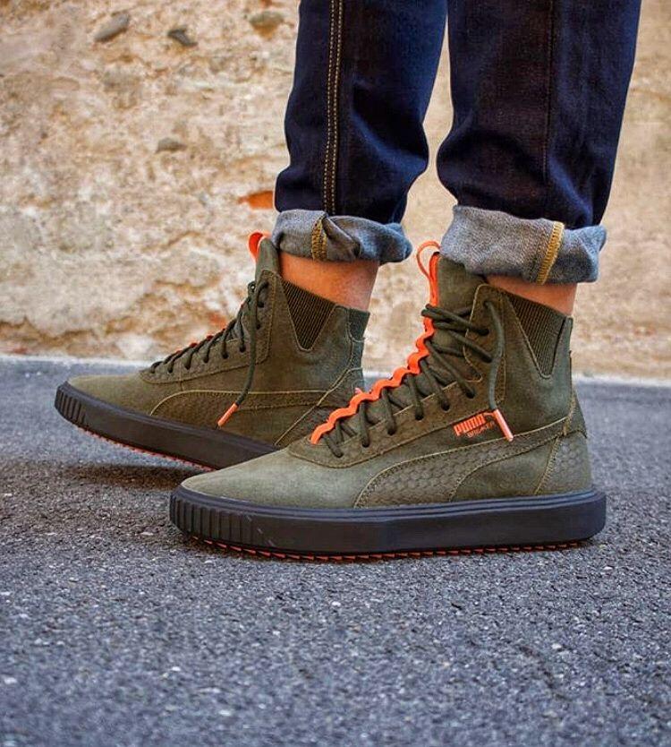 Puma Breaker | Swag shoes, Vans shoes