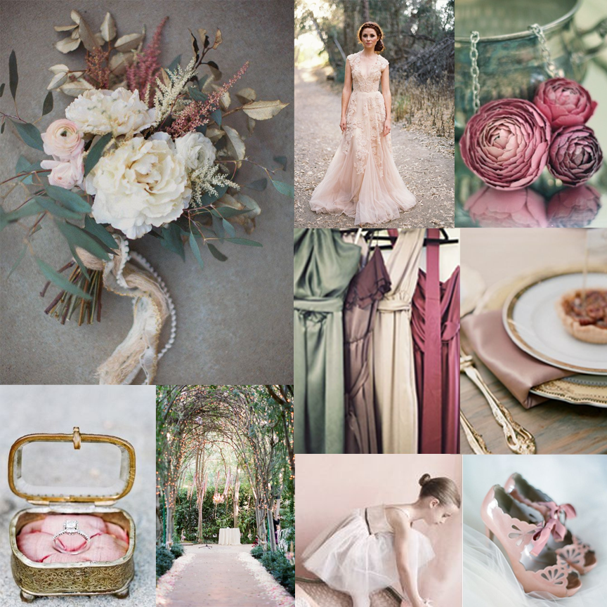 Creative Odds n' Ends: Romantic Rose Inspiration Board