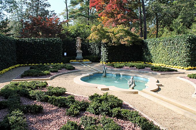 The French Parterre Restoration Project Hillwood Estate Museum And Garden Gorgeous Gardens Garden Features Parterre