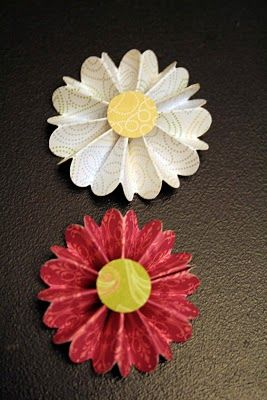 Send along some flat paper flowers with your next letter creative send along some flat paper flowers with your next letter mightylinksfo