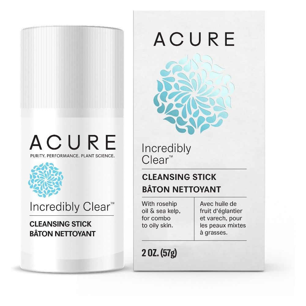 Acure Organics Incredibly Clear Cleansing Stick