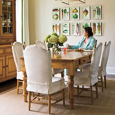 Gather \u0027Round the Dining Room Table Southern living, Dining room