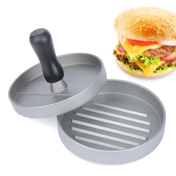 "Norpro Hamburger Patty Mold Burger Maker Press Uniform Round Patties 4.5/"" New"
