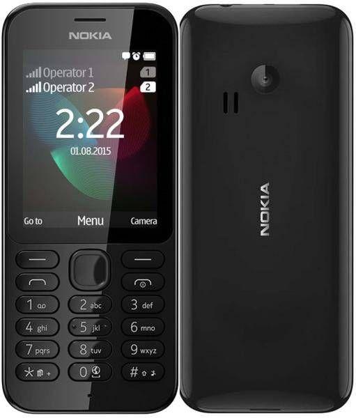 Nokia 222 Black Dual SIM | Mobile Phone prices Dubai