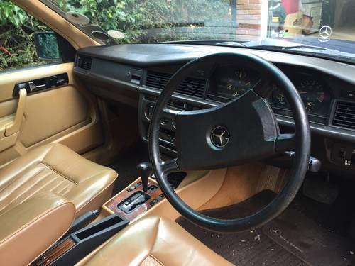 Mercedes 190E 2.0 Petrol Auto | Mercedes, Petrol, Car interior
