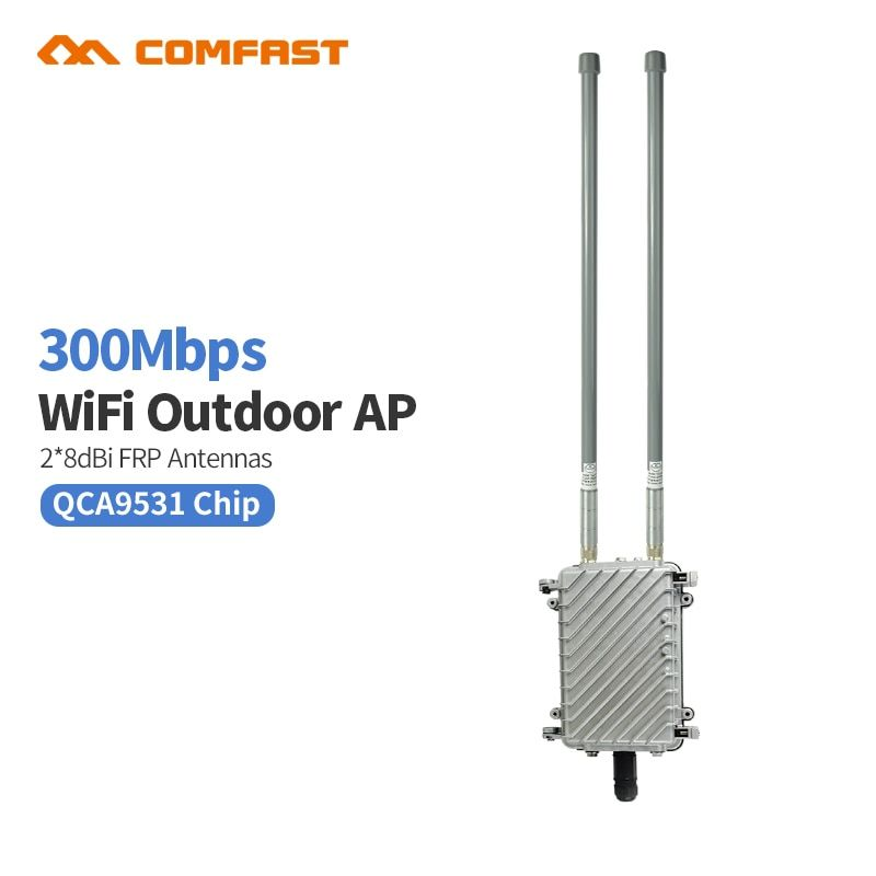 High Power Comfast Wa700 Outdoor Ap Engineering Routing Wireless Wifi Base Staion Omnidirectional Cpe Ap For Square Schools Wifi Revie Hotspot Wifi Router Wifi