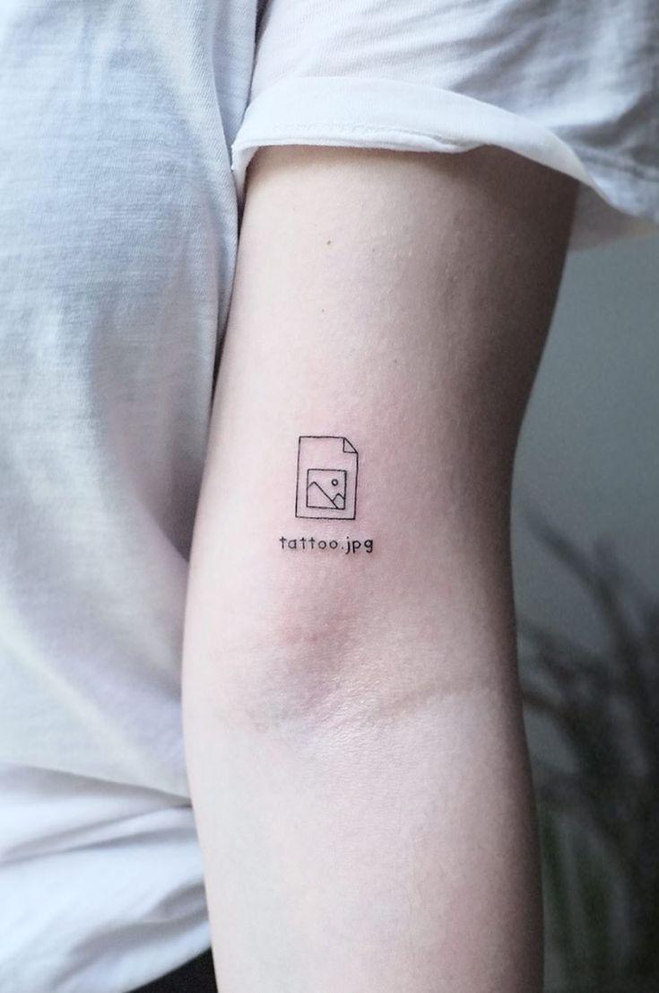 20 Most Meaningful And Beautiful Minimalist Tattoo Ideas  20 ...
