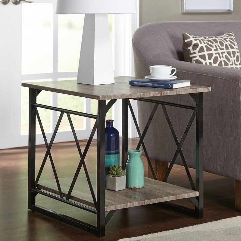 Phaidra End Table Sofa End Tables Distressed Table Top Furniture