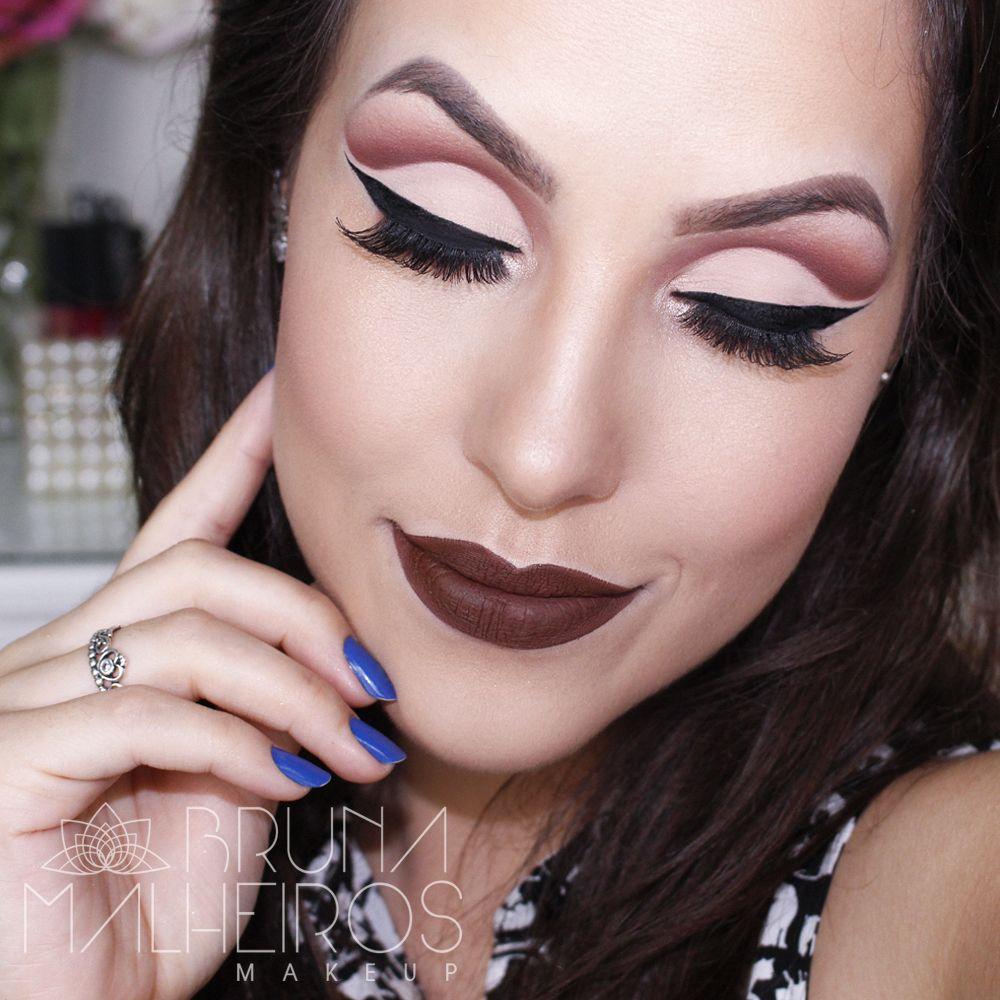 Maquiagem Cut Crease Aberto   Cosmetics   Light eye makeup ...