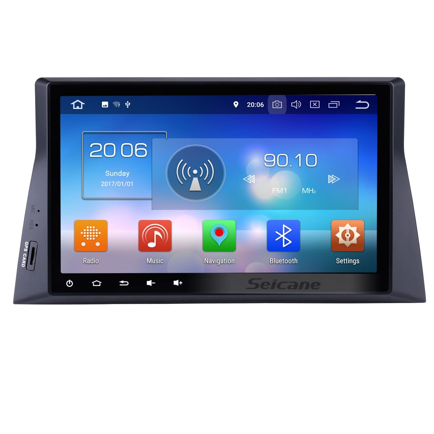 Seicane 10.1 Inch HD Touch Screen Android 8.0 Car Stereo